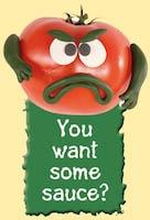 Angry tomato image