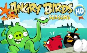 Angry Birds Season HD image