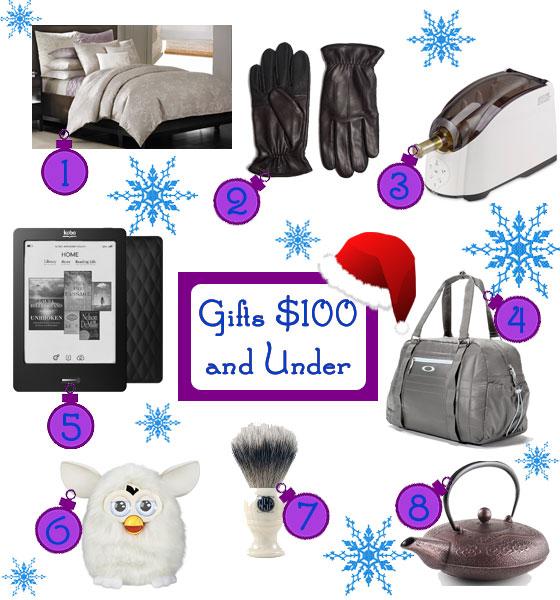 Gifts Ideas Under $100