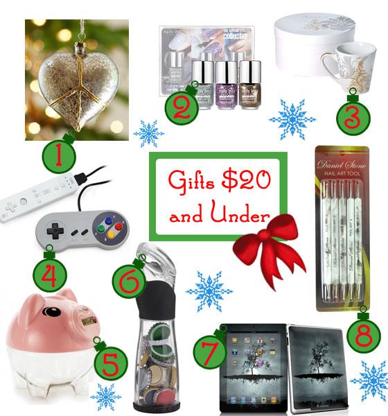 Gifts Ideas Under $20