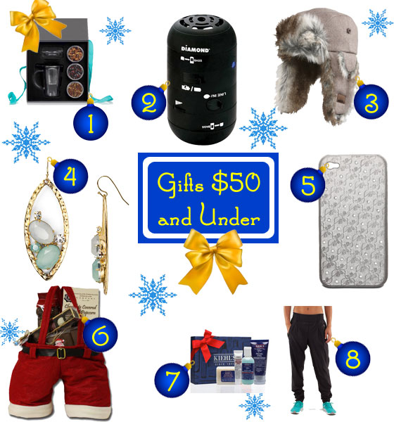 Gifts Ideas Under $50