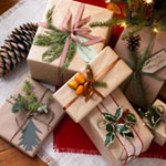 Nature Gift Wrapping