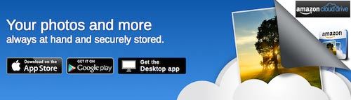 Amazon Cloud Drive banner image