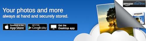 Amazon Cloud Drive banner image