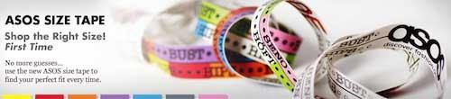 Asos free measuring tape image