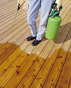 Deck staining image