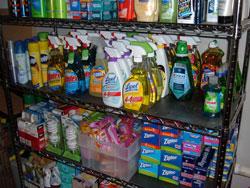 Stockpiling Shelf