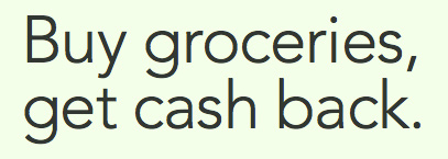 Buy Groceries Get Cash Back image